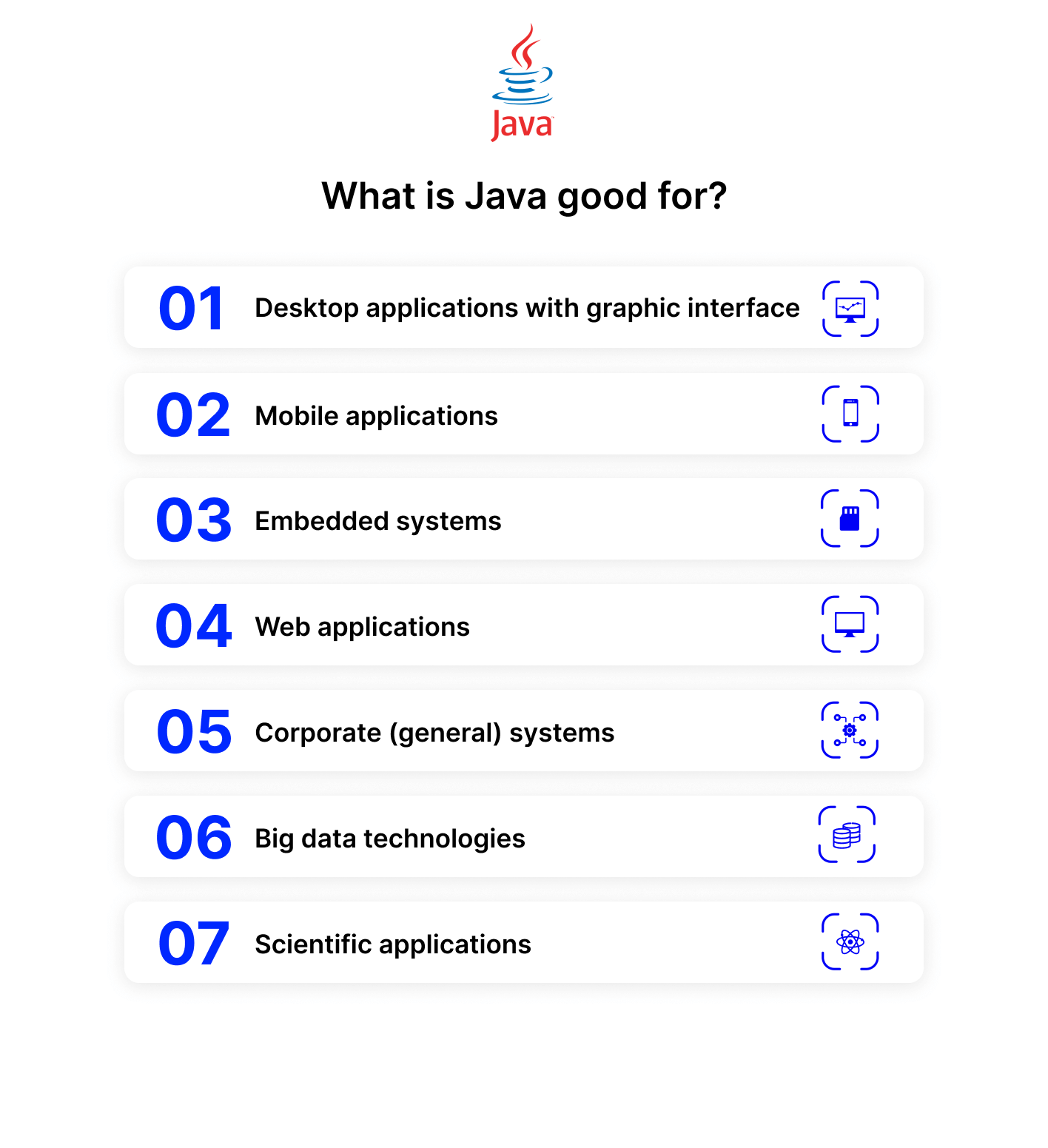 Java vs Python what's java good for