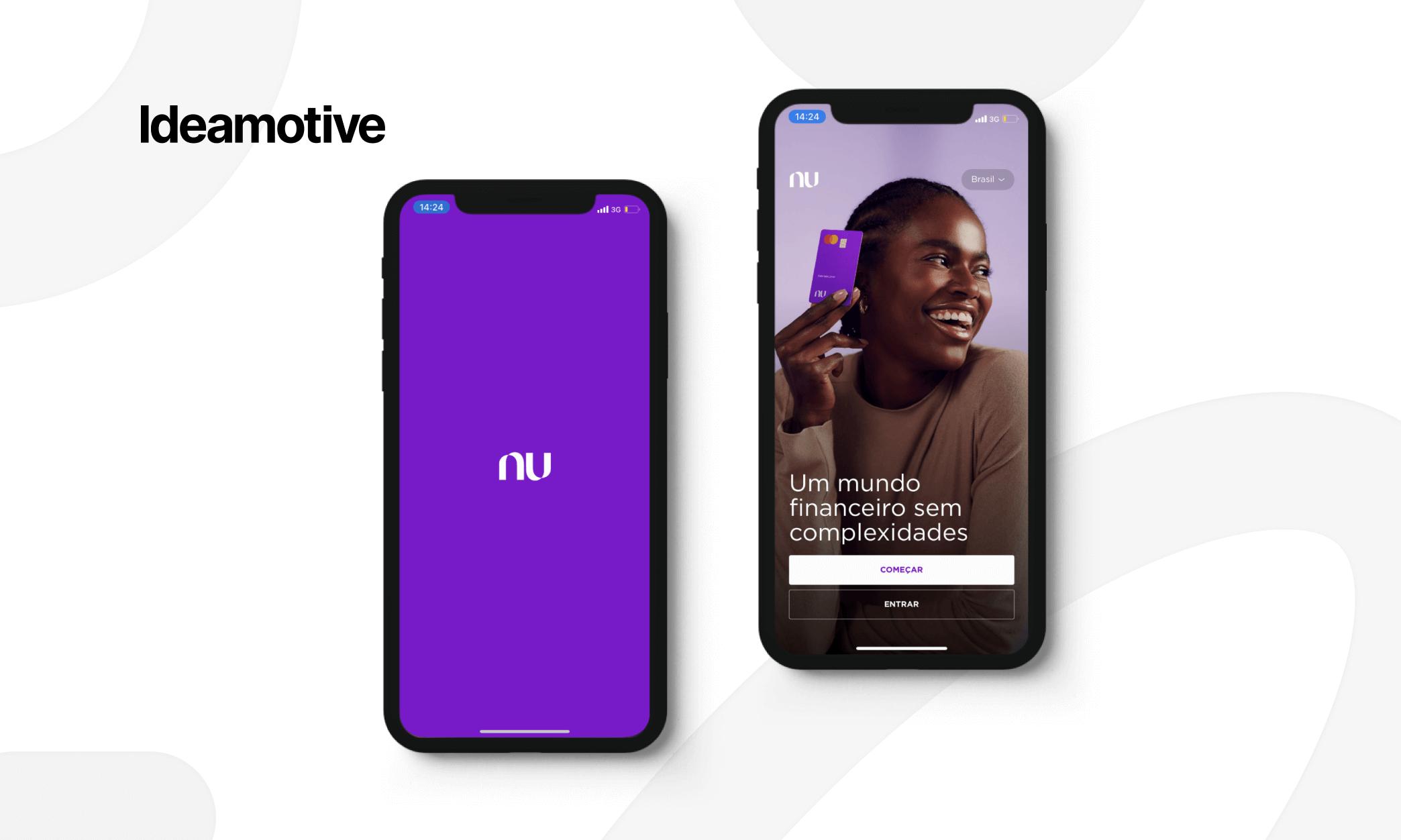 amazing examples of flutter mobile development nubank