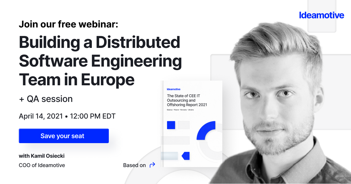 Building a Distributed Software Engineering Team in Europe WEBINAR