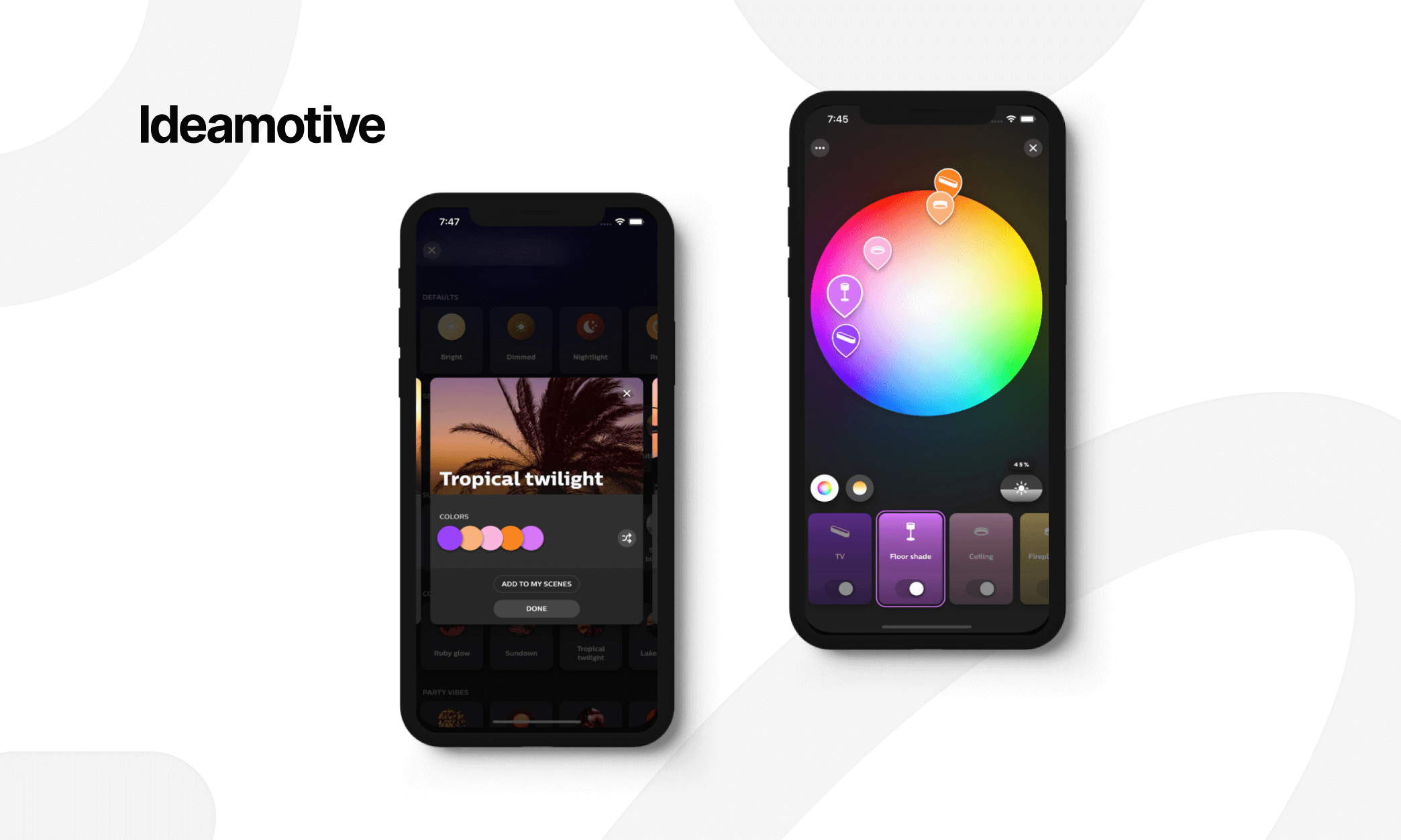 amazing examples of flutter mobile development philips hue