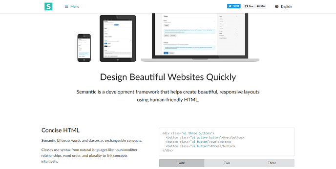 What Are The Best Frontend Frameworks To Use semantic ui