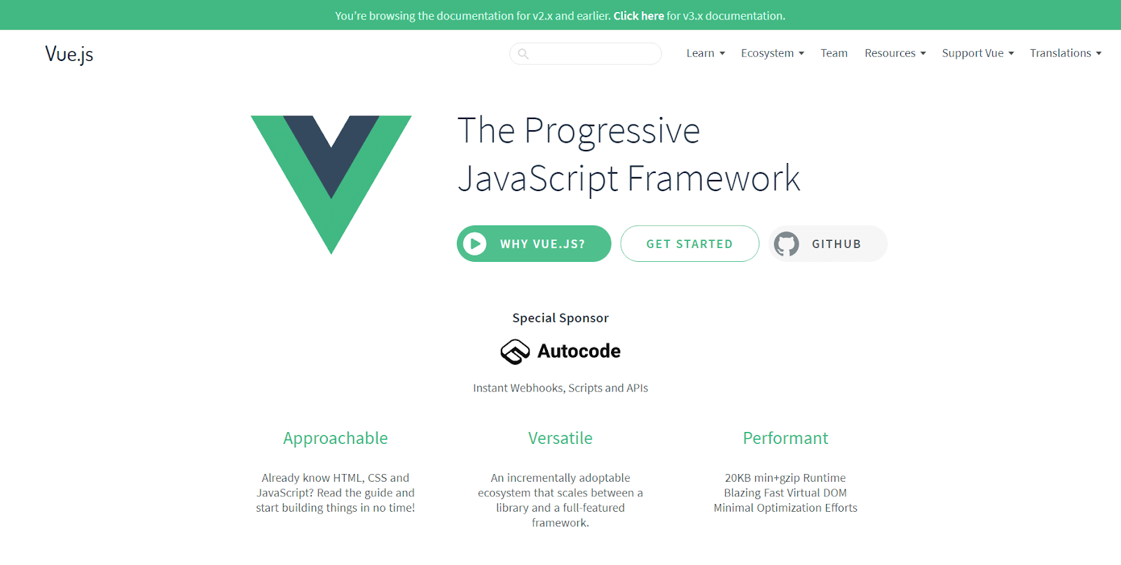 What Are The Best Frontend Frameworks vuejs