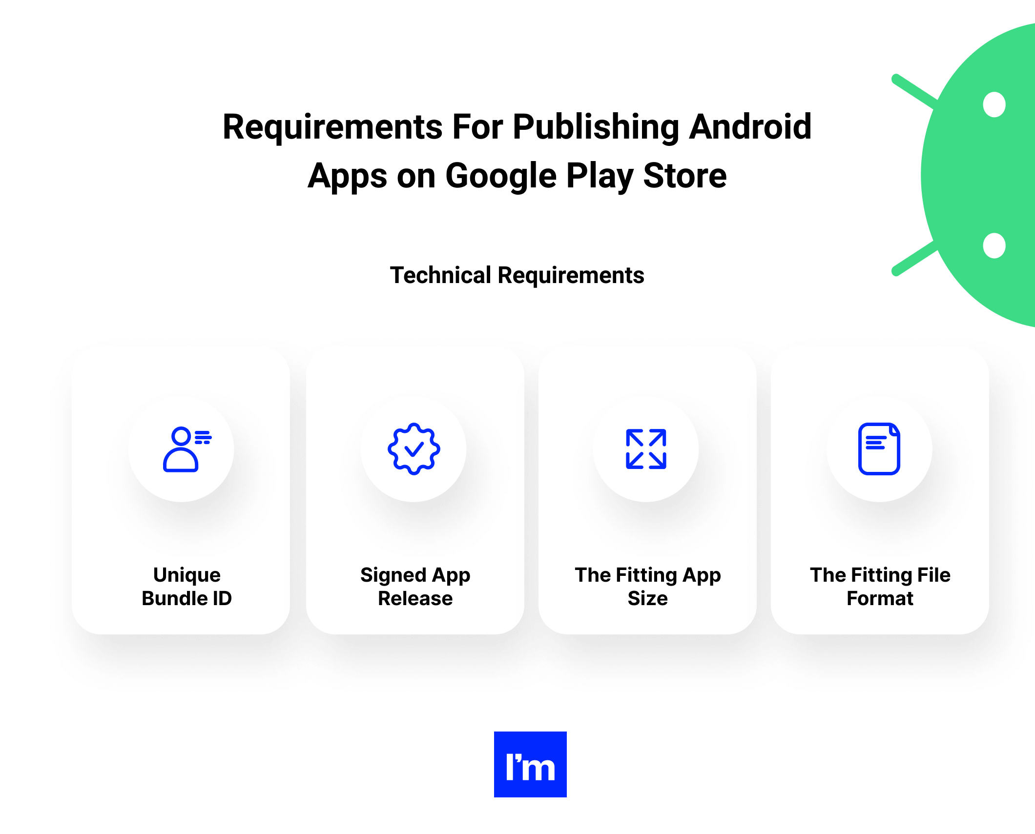 technical requirements for publishing android apps on google play store