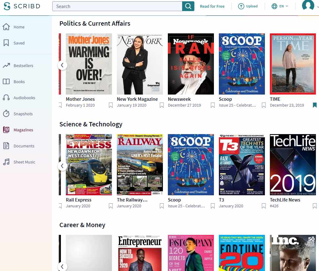 scribd-review-magazines-ebooks