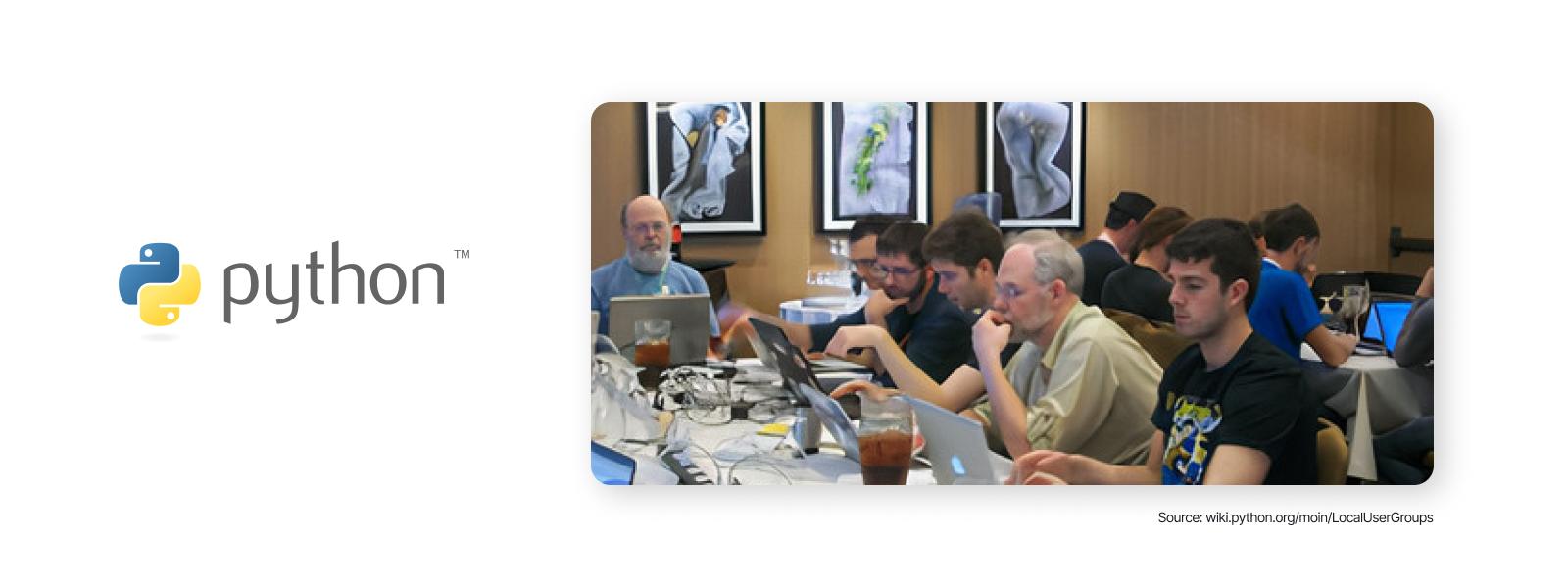 Python - Illustration 4 - Python Local User Groups